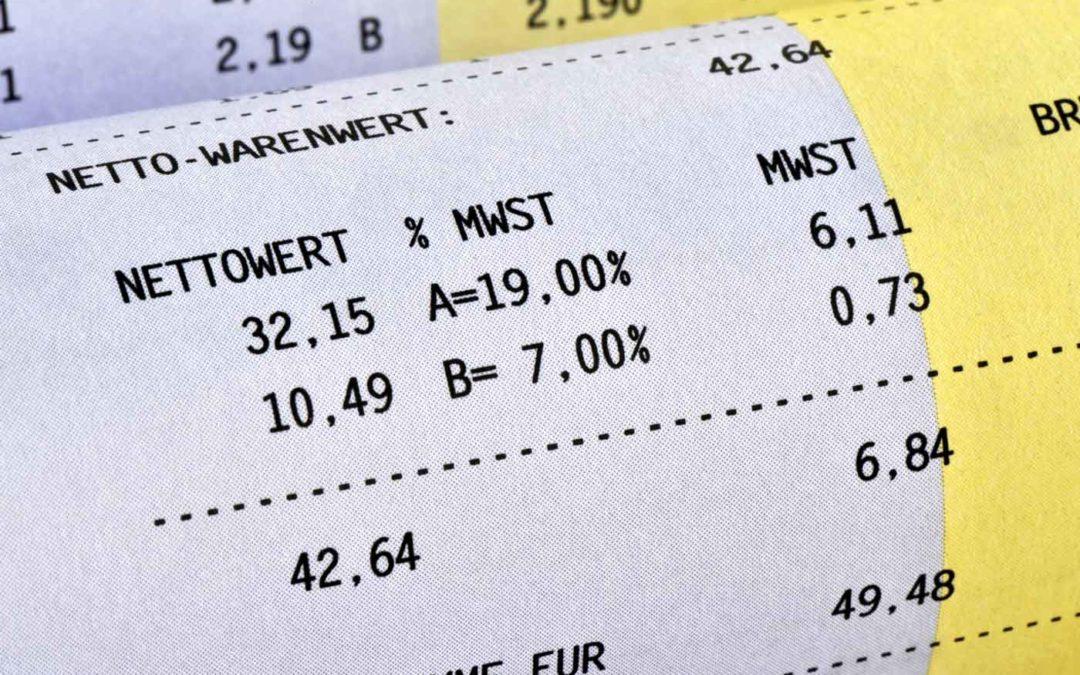 Kein Vorsteuerabzug wegen falscher Rechnung? Vorsicht bei Kassenbelegen von IKEA, Media Markt und Co.